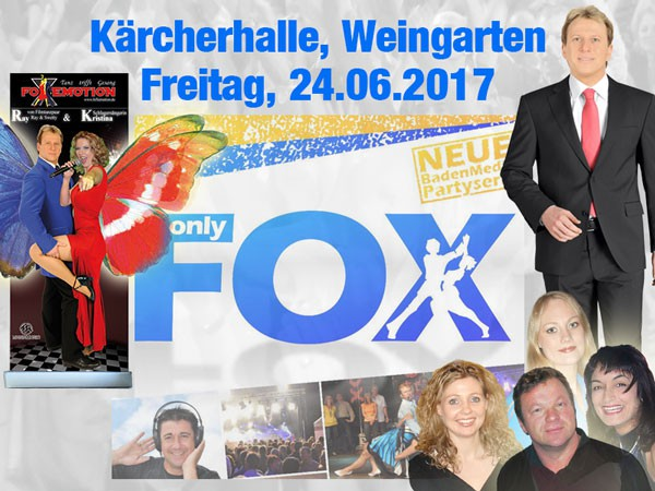 FoXemotion in der Kärcherhalle in Weingarten auf der Baden Media